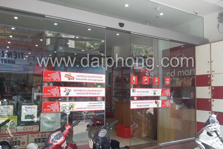 Cửa tự động tại Hà Nội